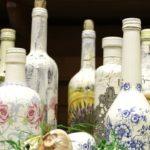 Новогоднее декорирование бутылки шампанского