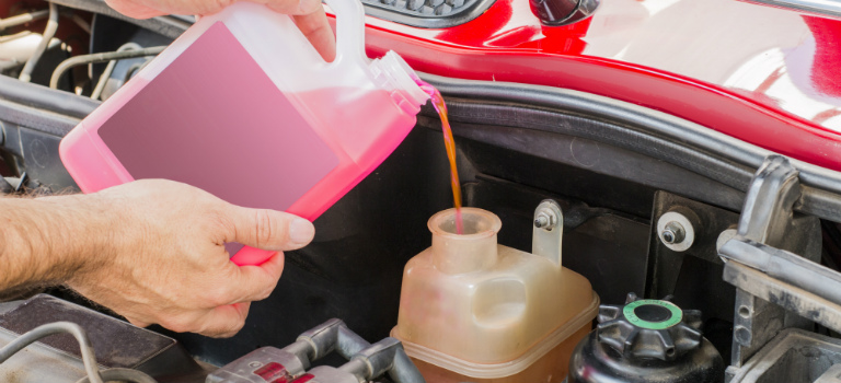 How to make antifreeze yourself