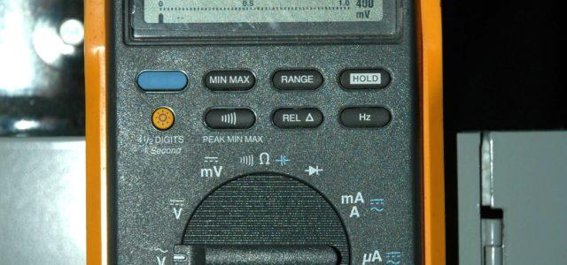 Переделка мультиметра в вольтметр