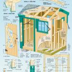 Как построить сарай + чертеж?