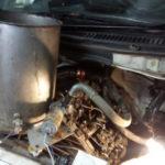 Промывка радиатора печи Тойота Лит Айс
