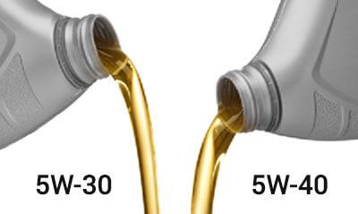 чем отличается масло 5w40 от 5w30